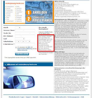 Read more about the article Warnung vor Abzockerei auf deutschlandkarte.de