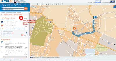 Read more about the article Mit Map24 kann man sich die Route vorlesen lassen
