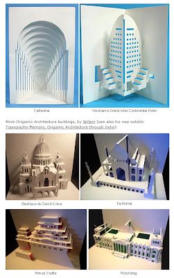 Read more about the article Origamische Architektur von Sehenswürdigkeiten