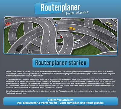 Read more about the article Warnung vor Routenplanabzocker www.routenplaner-41.com