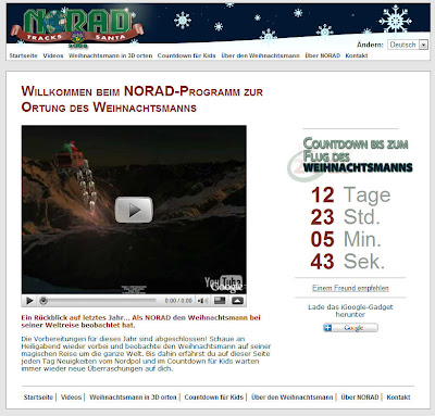Read more about the article NORAD ortet an Heiligabend den Weihnachtsmann