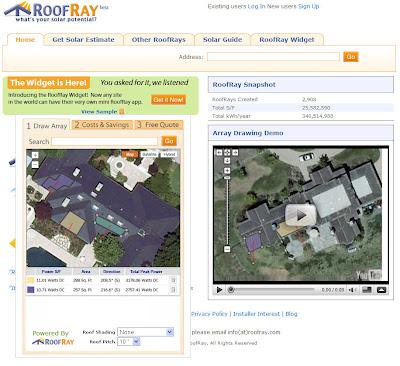 Read more about the article Mit RoofRay die Energiegewinnung durch Solarzellen berechnen