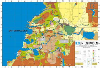 Read more about the article Endlich! Der erste Stadtplan von Entenhausen veröffentlicht