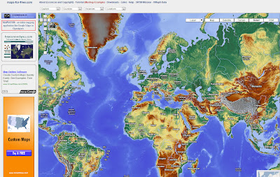 Read more about the article maps-for-free zeigt echte Google Map Reliefkarte