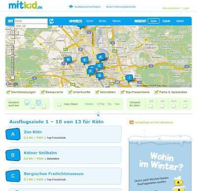Read more about the article mitkid – Auflugsziele für Kinder finden