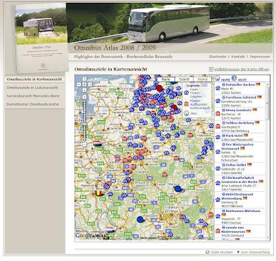 Read more about the article Mercedes-Benz Omibus Atlas zeigt Ausflugsziele für Bustouren