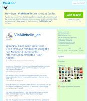 Read more about the article ViaMichelin hat jetzt auch einen Twitter