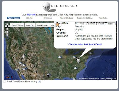 Read more about the article Mit UFO Stalker neueste Untertassensichtungen entdecken