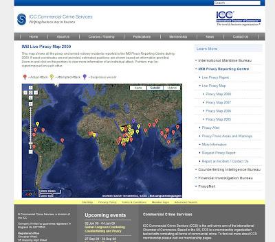 Read more about the article ICC zeigt weltweit aktuelle Piratenüberfälle auf See