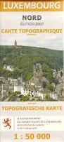 Read more about the article Landkartenexot: Amtliche Topografische Karte Luxembourg Nord 1:50.000