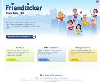 Read more about the article Mit Friendticker seinen Freunden sagen wo man ist