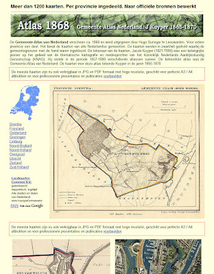 Read more about the article Gemeente Atlas Nederland 1865-1870