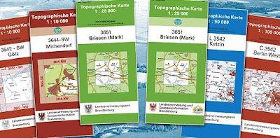 Read more about the article Verzeichnis aller topographischen Landkarten (TK25, TK50, TK100 und TÜK200) von Deutschland