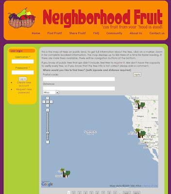 Read more about the article Nette Idee aus den USA: Neighborhood Fruit zeigt wo Bäume Früchte zum pflücken und essen stehen