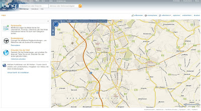 Read more about the article Microsoft Antwort auf Google Maps: bing maps