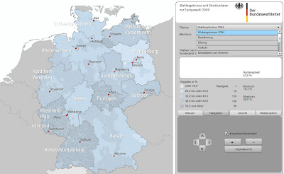 Read more about the article Europwahl 2009: Bundeswahlleiter zeigt jedes Detail der Europawahl
