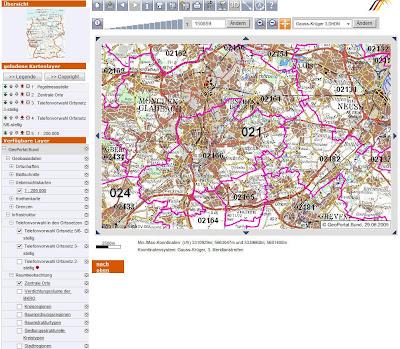 Read more about the article GeoPortal.bund informiert über Infrastruktur, Natur, Umwelt, Statistik und Verwaltung in Deutschland