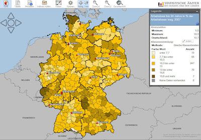 Read more about the article Regionalatlas der Statistischen Ämter des Bundes und der Länder