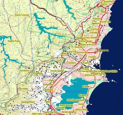 Read more about the article Online: Topographische Karte 1:250.000 von ganz Australien