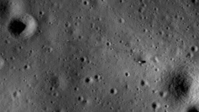 Read more about the article NASA zeigt Aufnahmen der Mondlandestellen der Apollomissionen
