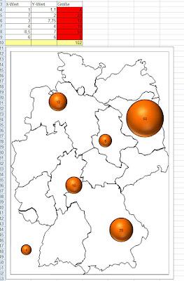 Read more about the article Deutschlandkarte als Diagramm für Microsoft Excel