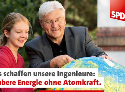Read more about the article SPD Wahlplakat mit Weltkugel: Steinmeier kennt die Kanarischen Inseln