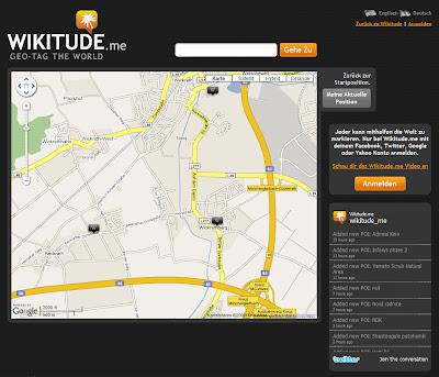 Read more about the article Dank Wikitude Ortschaften in Karten markieren