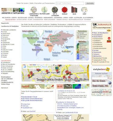 Read more about the article Landkarten & Stadtplan Index trotz der Finanzkrise