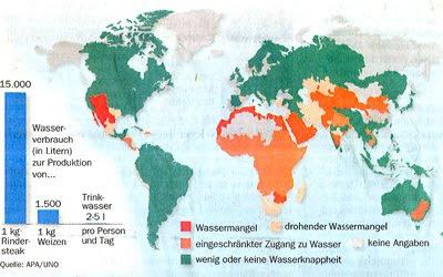 Read more about the article Wassermangel in der Welt