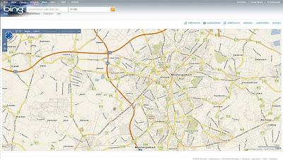 "Read more about the article Microsoft ""bing Maps"" zeigt keine bebauten Gebiete"