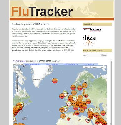 Read more about the article Aktuelle Themenkarte zur Schweinegrippe (H1N1) in der Welt