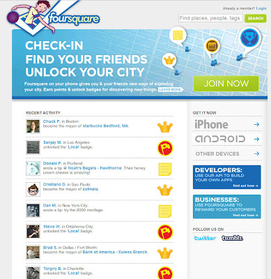 Read more about the article foursquare – Standortbasierende Twitterinfos übertragen