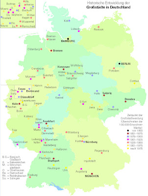 Read more about the article Deutschland hat 81 Großstädte