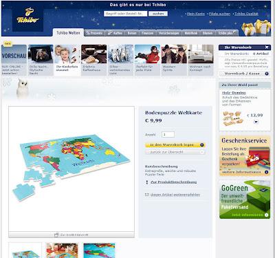 """Read more about the article Tchibo """"Bodenpuzzle Weltkarte"""" ist nichts für Kinder und Erwachsene"""