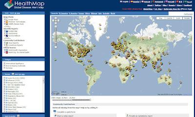 Read more about the article HealthMap zeigt aktuelle global Berichte und Studien von Krankheiten und Epidemien auf der Welt