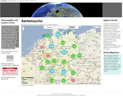 Read more about the article impfaerzte.de zeigt 14.000 Impfadressen gegen die Schweinegrippe in Deutschland