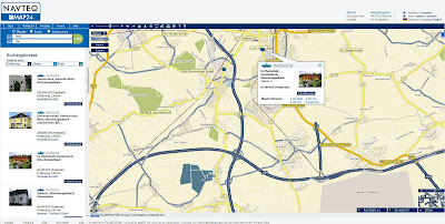 Read more about the article Navteq Map24 jetzt mit Immobiliensuche