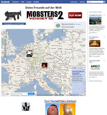 """Read more about the article Mit """"Map my Friend"""" seine Freunde auf Facebook in einer Weltkarte finden"""