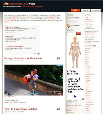 Read more about the article StreetViewFun zeigt die kursiose und witzige Seite von Google Streetview