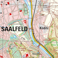 Read more about the article Nicht zu empfehlen: Topographische Karten im Maßstab 1:25.000, aus Hessen und Thüringen