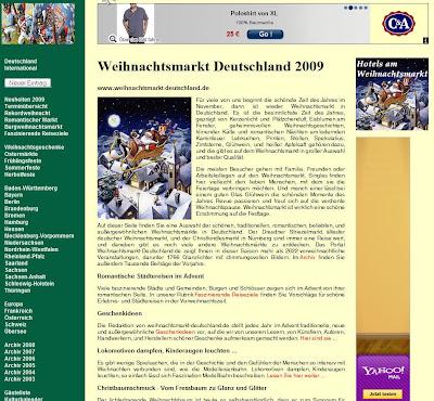 Read more about the article Mit Weihnachtsmarkt-Deutschland finden Sie alle Weihnachtsmärkte die es gibt