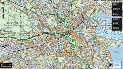 Read more about the article Ordance Survey zeigt interaktive Straßenkarten, Luftbilder und historische Karten von Irland