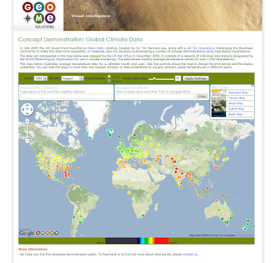 Read more about the article Geo.me: Klimatische Trends ganz einfach auf einer Karte analysieren