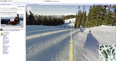 Read more about the article Olympia: Google Maps hat auch Streetview Bildern von Pisten und Olympiastandorten veröffentlicht.