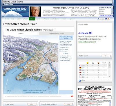 Read more about the article Olympia: Interaktiver Locationfinder für die Olympischen Winterspiele 2010