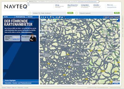 Read more about the article Kartenkuriosum: Bei Navteq sind alle Straßen wichtig!