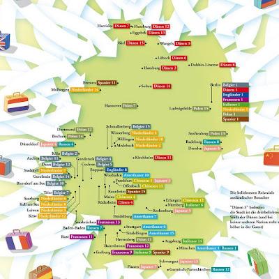 Read more about the article Deutschlandkarte: Die Welt zu Gast in Deutschland
