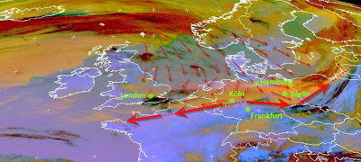 Read more about the article Eumetsat: Aktuelles Satellitenbild der Aschewolke vom Vulkanausbruch auf Island.