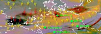 Read more about the article Eumetsat: Aktuelles Satellitenbild der Aschewolke von 9 Uhr: Asche über Norddeutschland
