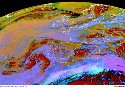 Read more about the article Eumetsat: Aktuelles Satellitenbild der Aschewolke vom Vulkanausbruch auf Island. Noch 450km bis nach Deutschland!